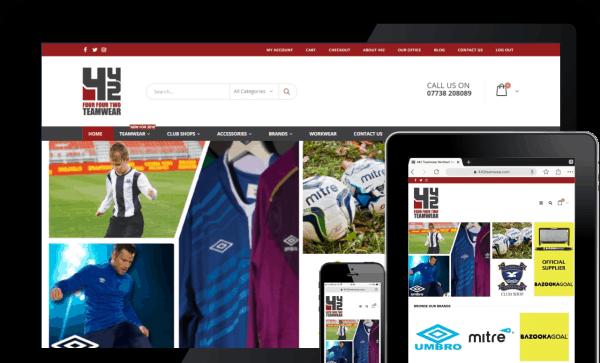 ecommerce web design ni