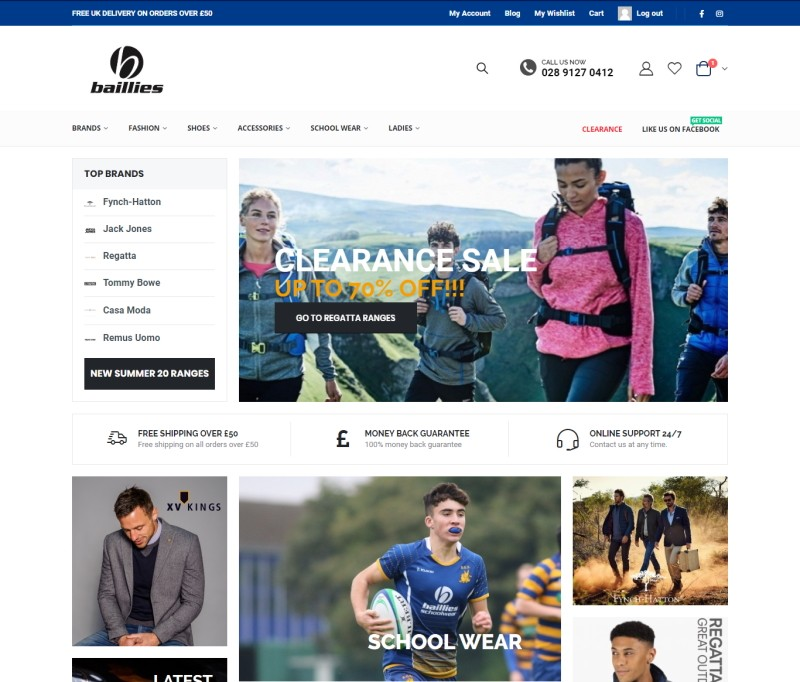 ecommerce design north down - bangor